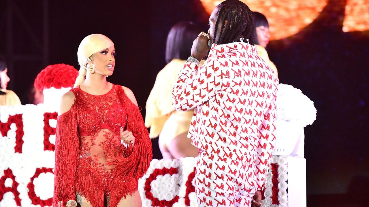 Migos Offset Explains Why He Married Cardi B: Offset Explains Why He Crashed Cardi B's Show