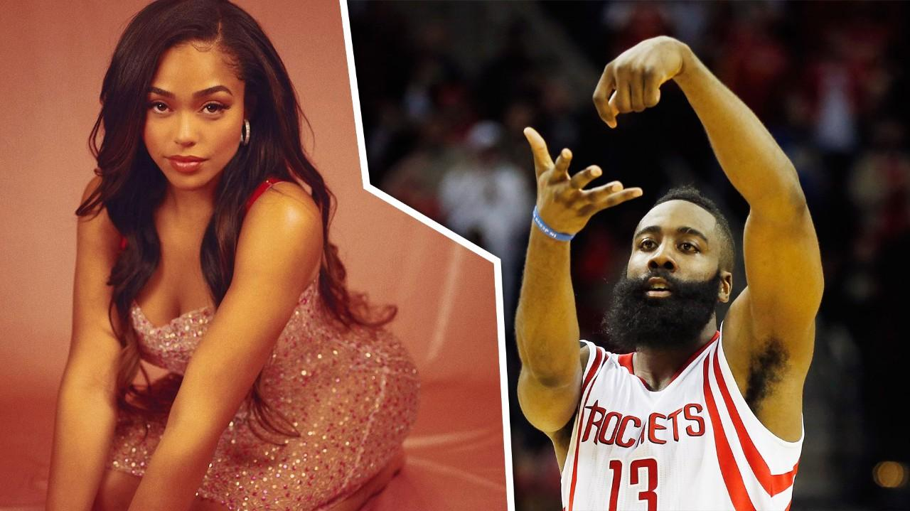 1e2c72c06206 Jordyn Woods reportedly also hooked up with Khloe s ex-boyfriend James  Harden