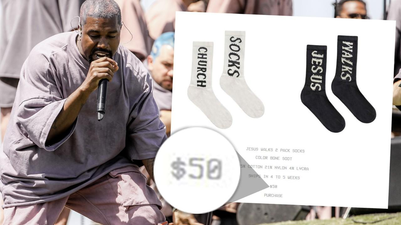 Get your mind blown at how much Kanye West is selling his Coachella