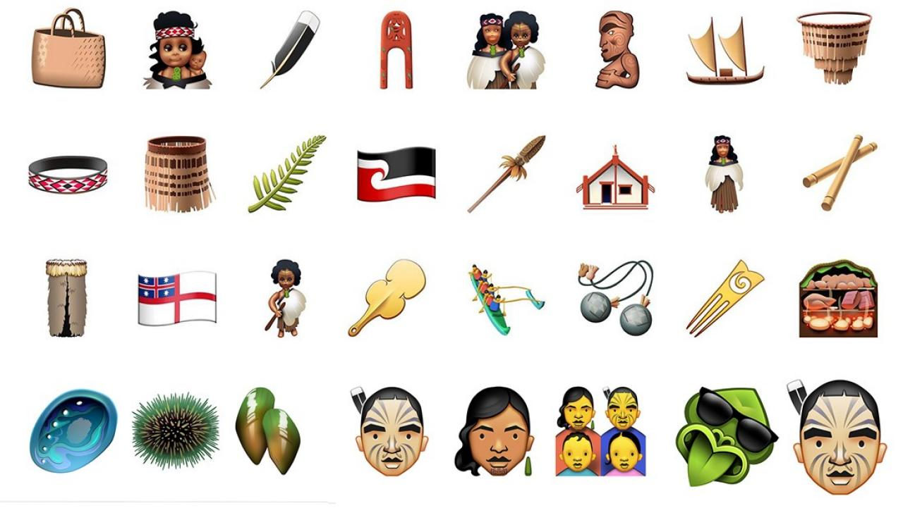you can now use maori emojis on your phone Weight Training Clip Art Education Clip Art
