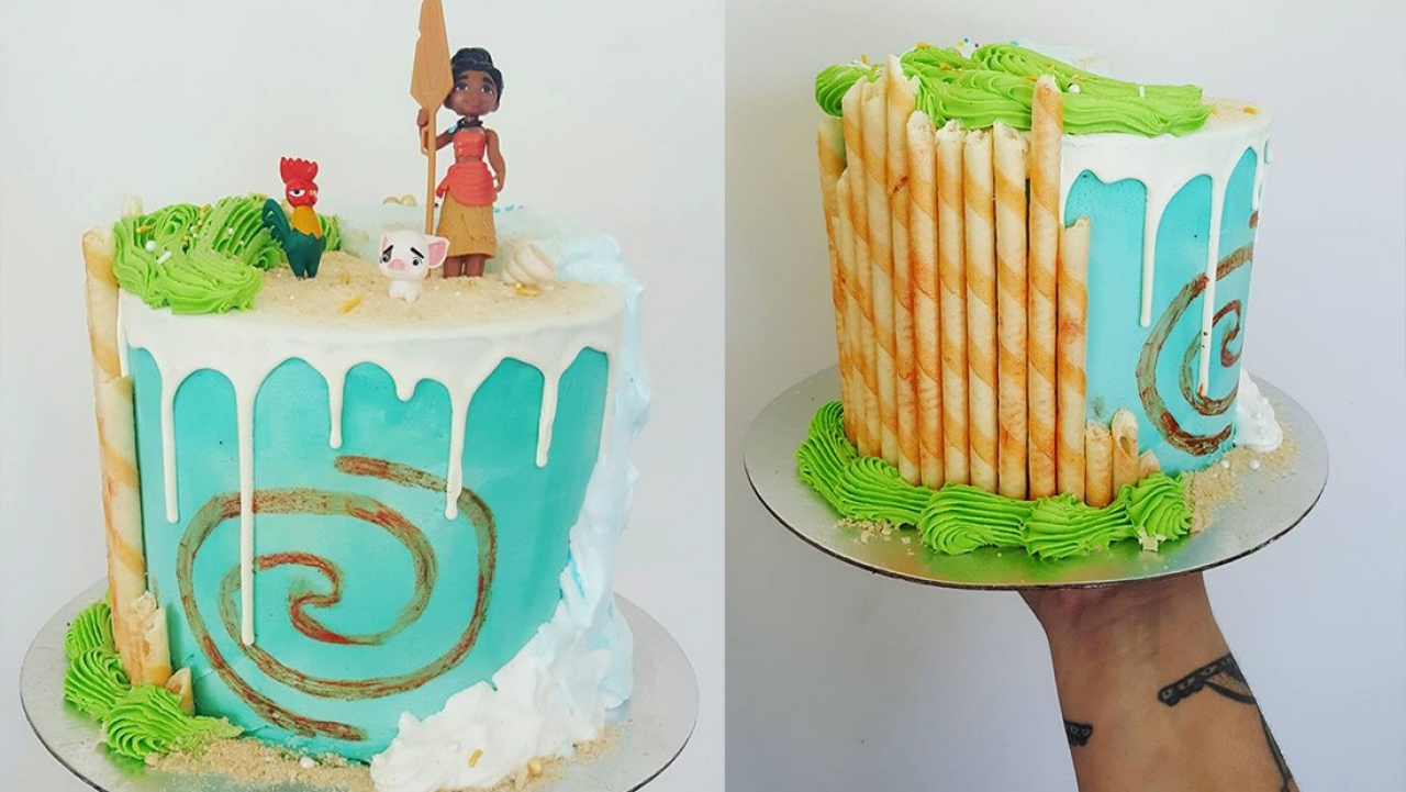 Christchurch Baker Creates Epic Moana Cake
