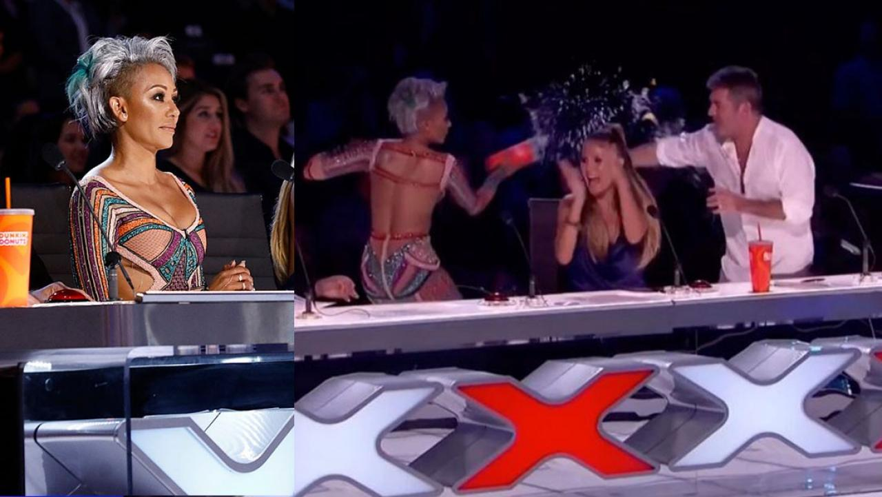 Mel B storms off Americas Got Talent after feud with