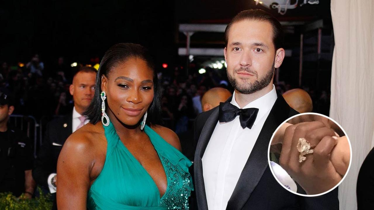 Serena Williams Shows Off Baby Alexis And Her Huge Wedding