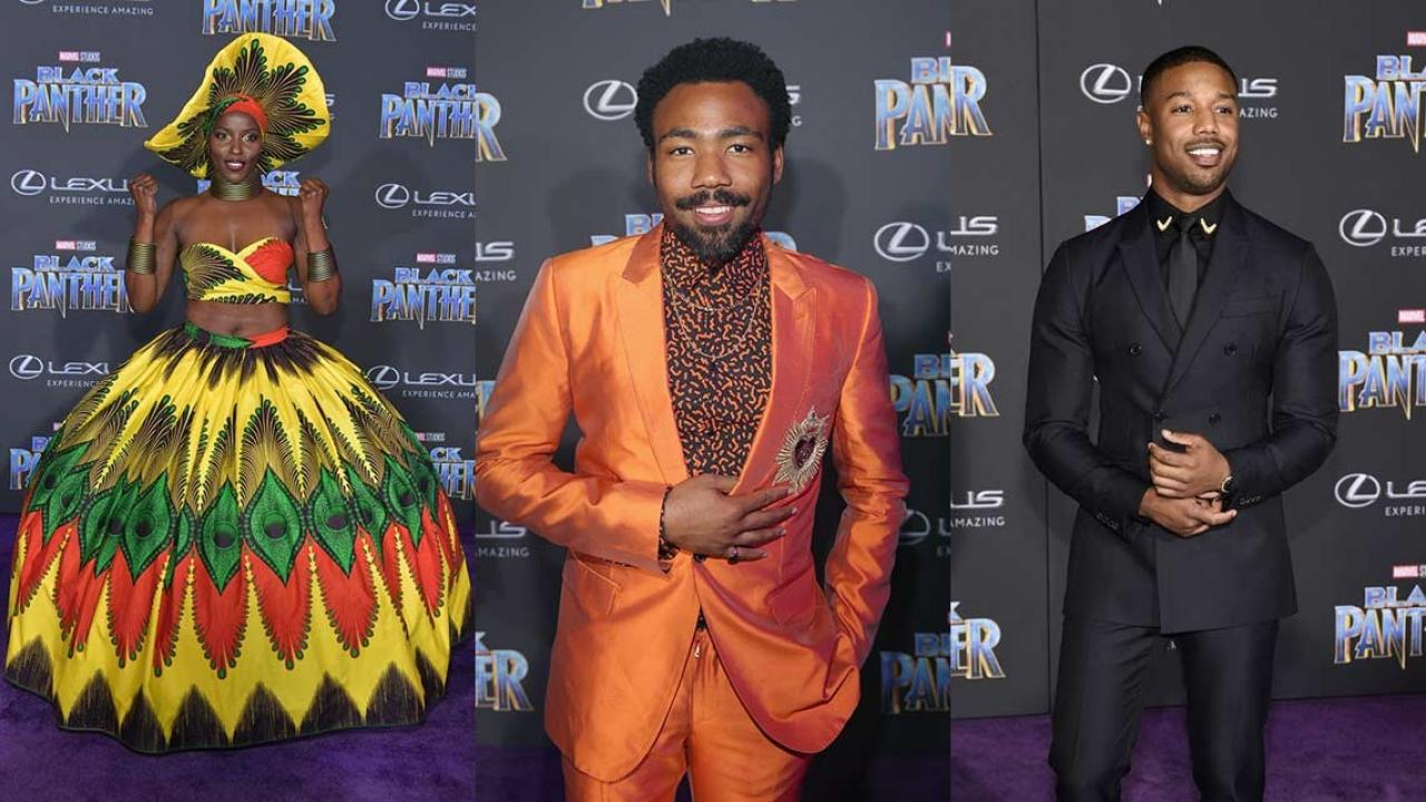 These Black Panther Premiere Outfits Slayed The Red Carpet